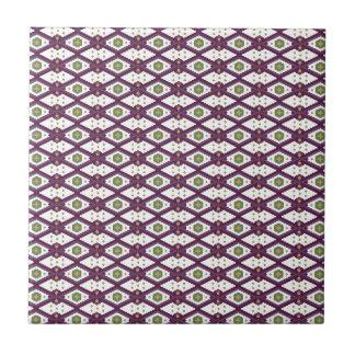 Decorative Pattern Small Square Tile