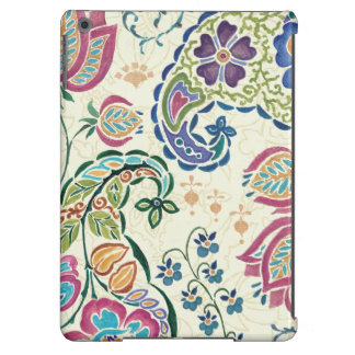 Decorative Peacock and Colorful Flowers Case For iPad Air