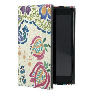 Decorative Peacock and Colorful Flowers Cover For iPad Mini