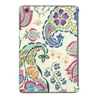 Decorative Peacock and Colorful Flowers iPad Mini Retina Case