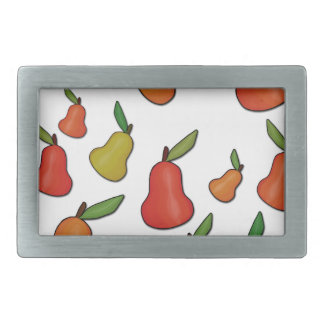 Decorative pears pattern belt buckle