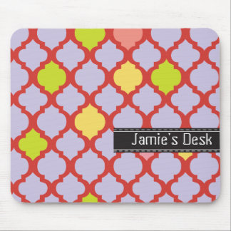 Decorative personalized mousepad