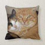 Decorative pillow Gatos