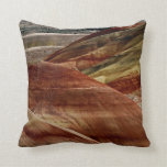 Decorative pillow with colorful dunes
