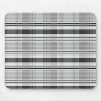 Decorative plaid pattern mouse pad