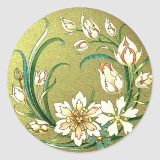 Decorative plants and flowers stickers
