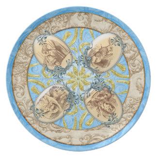 Decorative Plate - Wonderland, by GalleryGifts