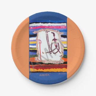 DECORATIVE, PLATES, Party-treats, artisan original Paper Plate