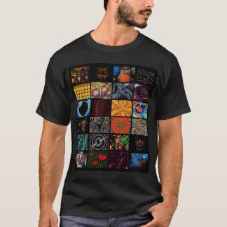 Decorative  Pop Arts Pattern T-Shirt