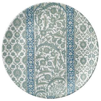 Decorative porcelain  Plate Arabesque Collection