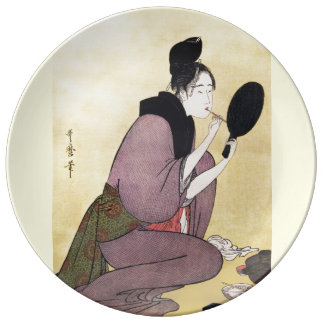 Decorative porcelain  Plate Vintage Japanese art
