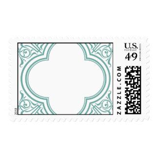 decorative postage stamp template