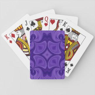 Decorative Purple wood pattern Card Decks