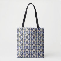 Decorative Quail Bird Pattern Tote
