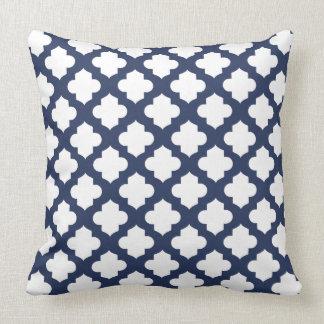 Decorative Quatrefoil Pillows