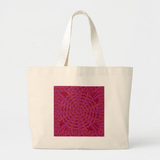 Decorative Quited look RedRose Petal Couture Gifts Jumbo Tote Bag