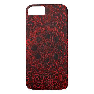 Decorative Red Demon Lotus Mandala iPhone iPhone 8/7 Case