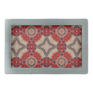 Decorative Red Retro Art Belt Buckle