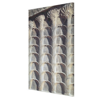 Decorative relief from the east stairway canvas print