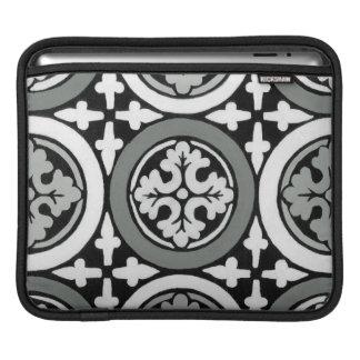 Decorative Renaissance Rosette Tile Design iPad Sleeves