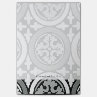Decorative Renaissance Rosette Tile Design Post-it® Notes