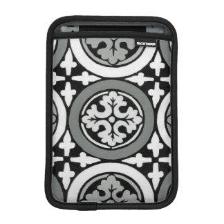 Decorative Renaissance Rosette Tile Design Sleeve For iPad Mini
