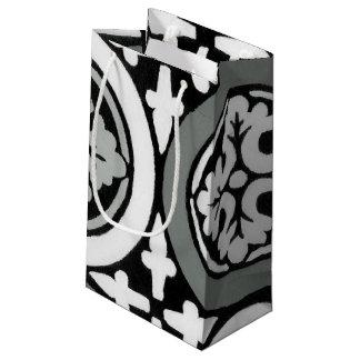 Decorative Renaissance Rosette Tile Design Small Gift Bag