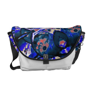 Decorative Retro Rickshaw Messenger Bag