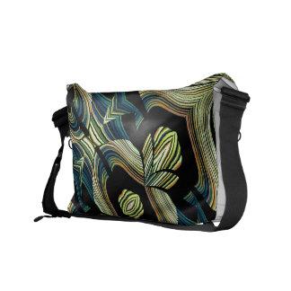 Decorative Rickshaw Messenger Bag Design