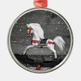 Decorative Rocking Horse Metal Ornament