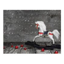 Decorative Rocking Horse Postcard