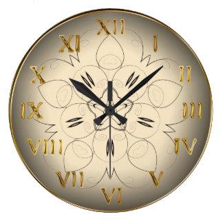 Large Decorative Wall Clocks Zazzle