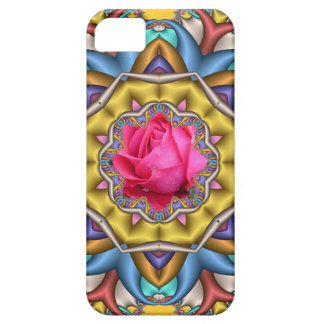 Decorative romantic iPhone 5 case with Rose