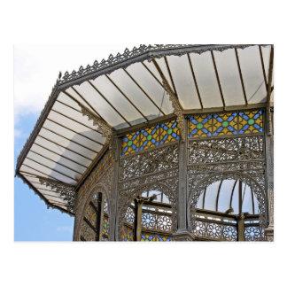 Decorative Roof(1) Postcard