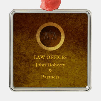 Decorative Scales of Justice | Law Office Metal Ornament