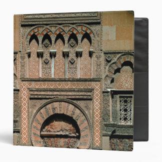 Decorative scheme above the doorway vinyl binder
