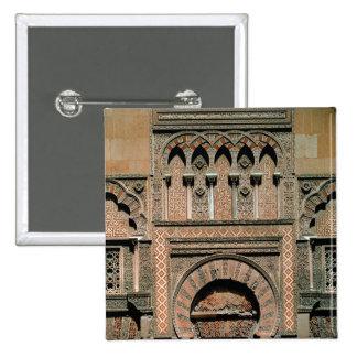 Decorative scheme above the doorway button