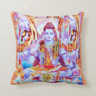 DECORATIVE SHIVA YOGA PILLOW
