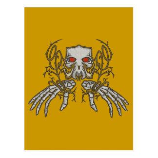 Decorative Skull Postcard