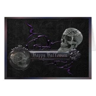 Decorative Skulls Halloween Greeting Cards