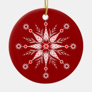 Decorative Snowflake ornament