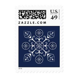Decorative Snowflake Stamp