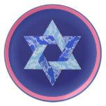 Decorative Star of David Plate