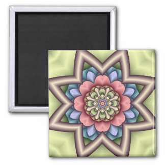 Decorative starry Floral Magnet