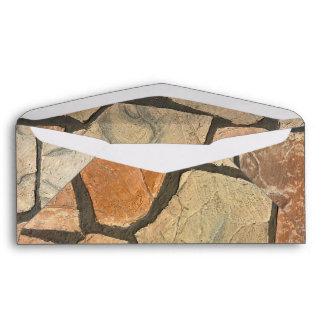 Decorative Stone Paving Look Envelope