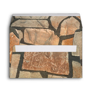 Decorative Stone Paving Look Envelope