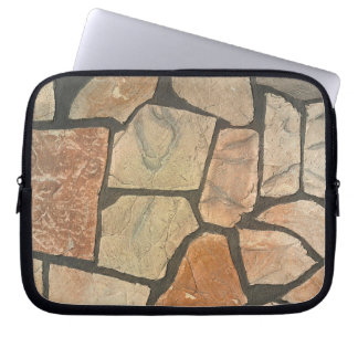 Decorative Stone Paving Look Laptop Computer Sleeves