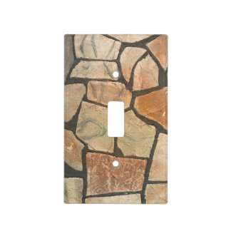 Decorative Stone Paving Look Light Switch Cover