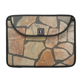 Decorative Stone Paving Look Sleeve For MacBook Pro