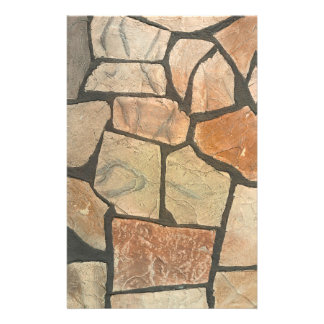 Decorative Stone Paving Look Stationery
